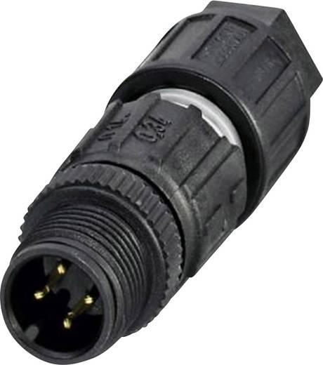Sensor-/Aktor-Steckverbinder, unkonfektioniert M12 Stecker, gerade Polzahl (RJ): 4 Phoenix Contact 1641714 SACC-M12MS-4