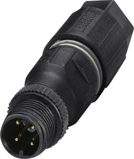 Sensor-/Aktor-Steckverbinder, unkonfektioniert M12 Stecker, gerade Polzahl (RJ): 4 Phoenix Contact 1641769 SACC-M12MS-4