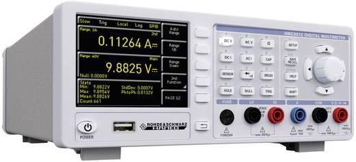 Tisch-Multimeter digital Rohde & Schwarz HMC8012 Ethernet/USB Kalibriert nach: Werksstandard Datenlogger CAT II 600 V Anzeige (Counts): 480000
