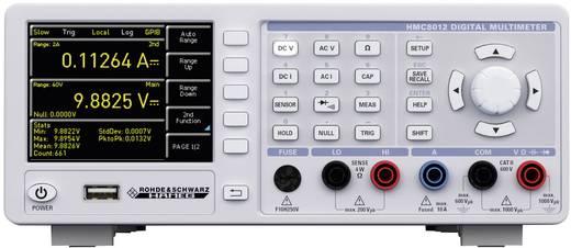 Tisch-Multimeter digital Rohde & Schwarz HMC8012 IEEE-488 Kalibriert nach: DAkkS Datenlogger CAT II 600 V Anzeige (Count
