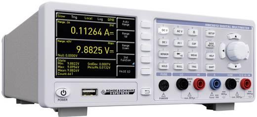 Tisch-Multimeter digital Rohde & Schwarz HMC8012 IEEE-488 Kalibriert nach: Werksstandard Datenlogger CAT II 600 V Anzeige (Counts): 480000