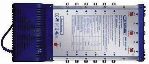 SAT Multischalter Spaun Premium SMS 51203 NF Eingänge (Multischalter): 5 (4 SAT/1 terrestrisch) Teilnehmer-Anzahl: 12 St