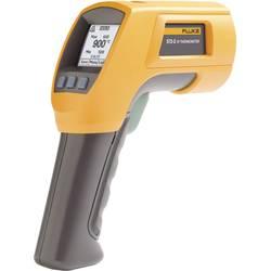 Infračervený teplomer Fluke 572-2, Optika 60:1, -30 do +900 °C, kontaktné meranie, Kalibrované podľa (ISO)