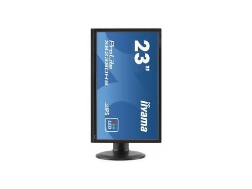 Iiyama XB2380HS-B1 LED-Monitor 58.4 cm (23 Zoll) EEK B 1920 x 1080 Pixel Full HD 5 ms HDMI™, DVI, VGA IPS LED