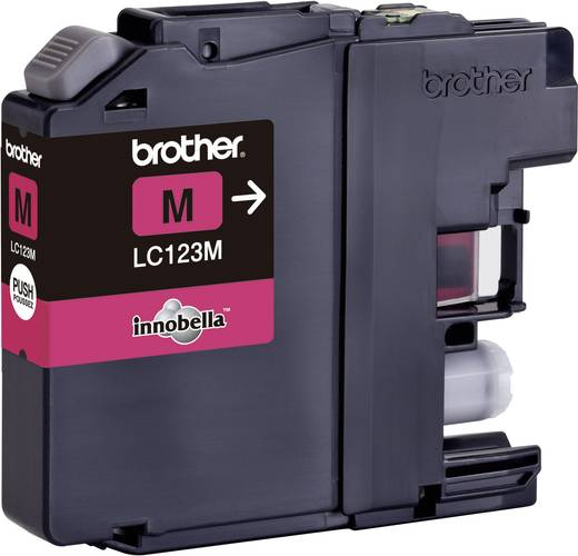 Brother Tinte LC-123M Original Magenta LC123M