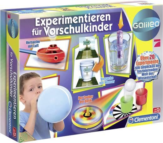 Clementoni Galileo-Experimentieren für Vorschulkinder
