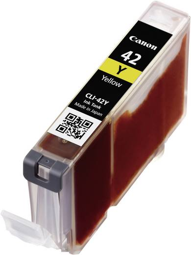 Canon Tinte CLI-42Y Original Gelb 6387B001