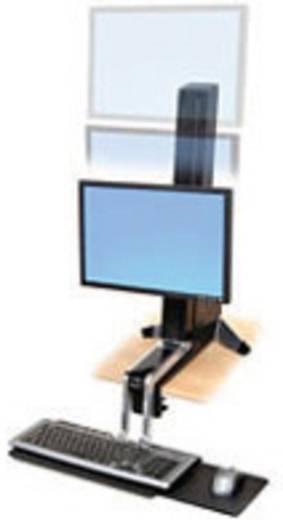 """Ergotron WorkFit-S Single HD Monitor-Tischhalterung 25,4 cm (10"""") - 76,2 cm (30"""") Neigbar, Rotierbar"""