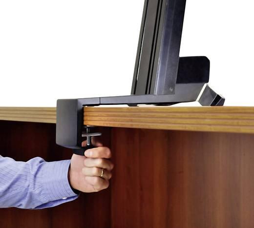 """Monitor-Tischhalterung 25,4 cm (10"""") - 76,2 cm (30"""") Neigbar, Rotierbar Ergotron WorkFit-S, Single HD with Worksurface+"""