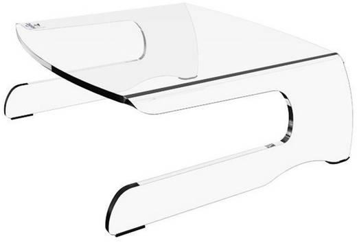 Dataflex FH 550 Monitor-Erhöhung Höhen-Bereich: 110 mm (max) Transparent