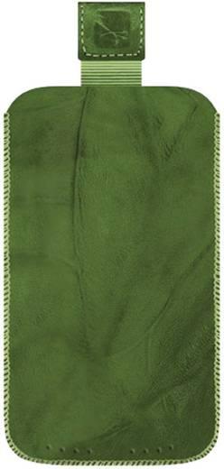 iPhone Tasche Gripis Slip Cover Creased Green 4 Passend für: Apple iPhone 4, Apple iPhone 4S, Grün