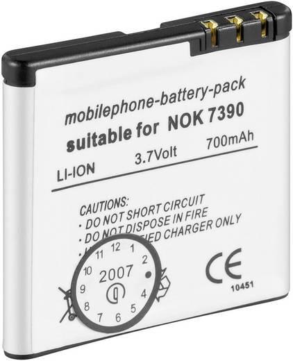 Handy-Akku Goobay Passend für: Nokia 5610 XPRESSMUSIC, Nokia 5700 XPRESSMUSIC, Nokia 6110 NAVIGATION, Nokia 6500 SLIDE,