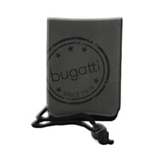 Bugatti Housse SmartCase One Size gris/noir Sleeve , Grau, Schwarz