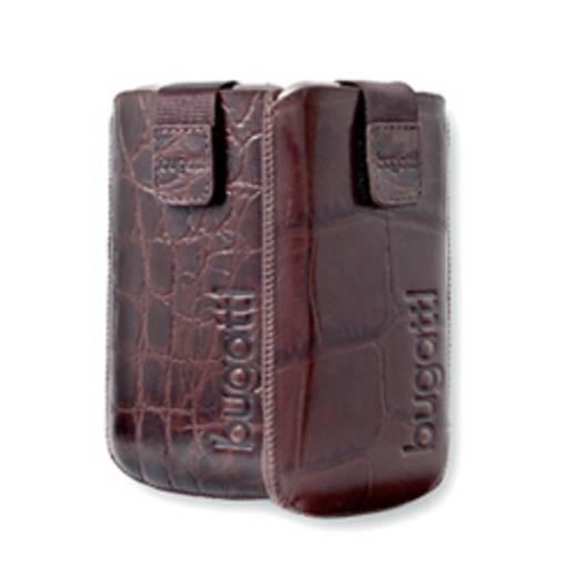 Bugatti Housse Leather Croco taille S Sleeve , Schwarz