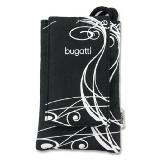 Bugatti Smart Case Flip Cover Schwarz