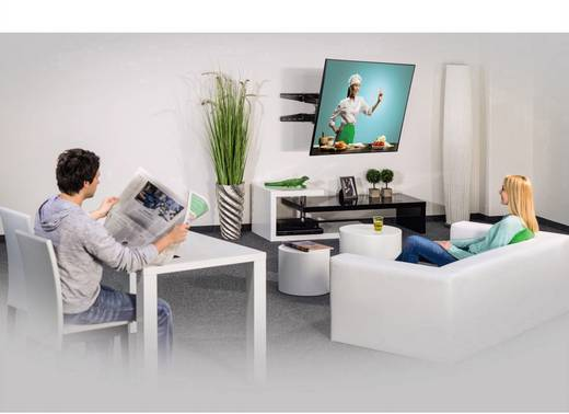 "Hama FULLMOTION Ultraslim XL TV-Wandhalterung 94,0 cm (37"") - 165,1 cm (65"") Neigbar+Schwenkbar, Rotierbar"