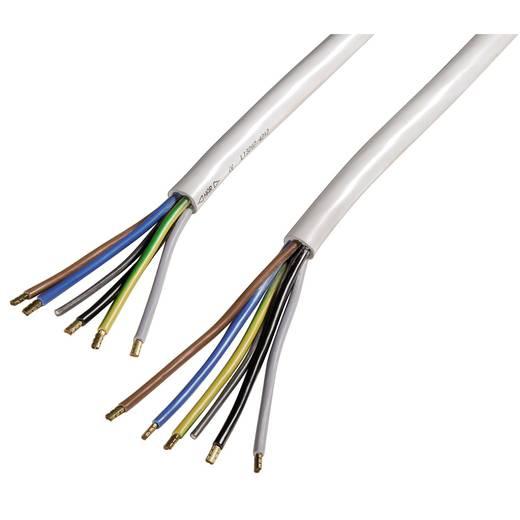 Herd Anschlusskabel [ Kabel, offenes Ende - Kabel, offenes Ende] Weiß 1.50 m Xavax 00110826