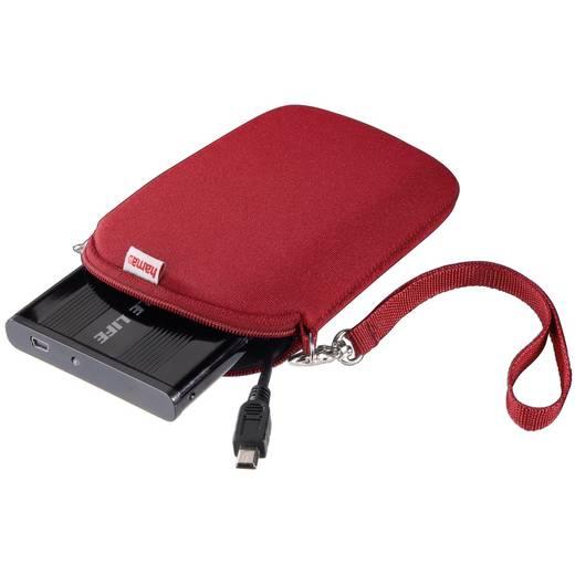 Festplatten-Tasche 6.35 cm (2.5 Zoll) Hama 00095507 00095507 Rot