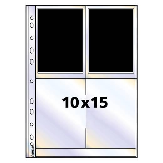 Fotohüllen Hochformat Transparent 10 x 15 cm Hama