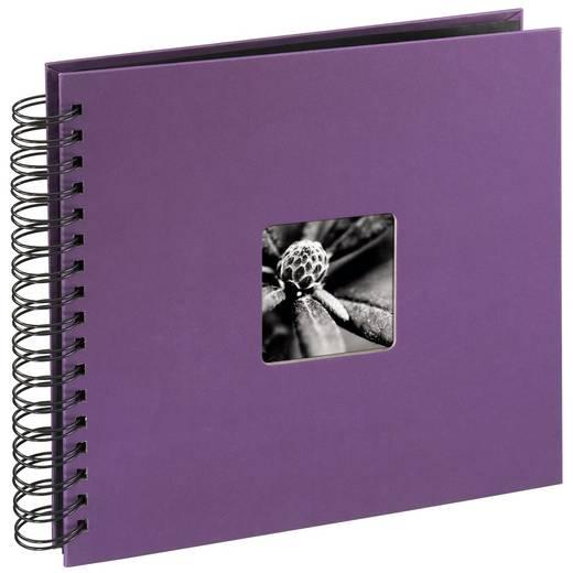 "Spiralalbum ""Fine Art"", Lila, 28x24/50"
