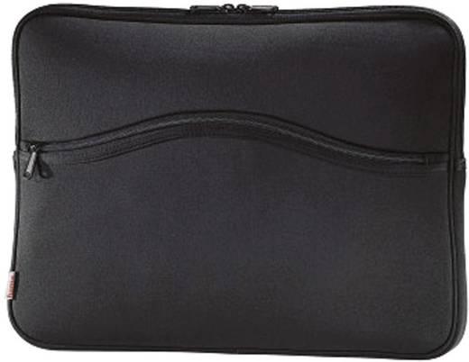 """Hama Notebook Hülle Comfort Life Passend für maximal: 39,6 cm (15,6"""") Schwarz"""
