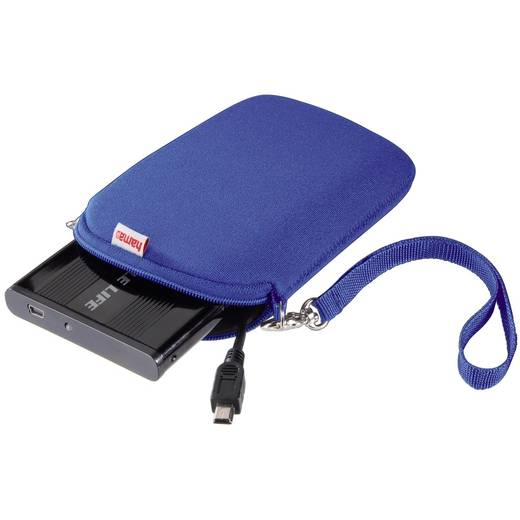 "2.5"" HDD-Cover, Neopren, Blau"