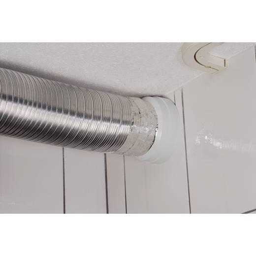 Alu-Abluftrohr für Dunstabzugshaube, 150 mm
