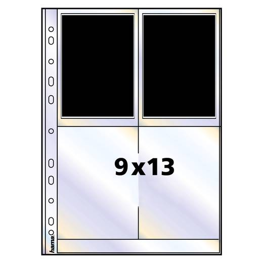 Fotohüllen Hochformat Weiß 9 x 13 cm Hama 00009786