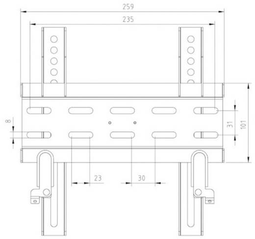 "Thomson WAB337 TV-Wandhalterung ""LED MOUNT by Thomson"" 25,4 - 94 cm (10"" - 37"") Schwarz"