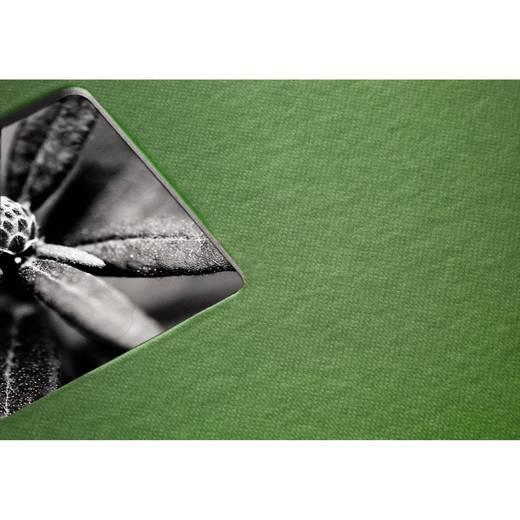 "Spiralalbum ""Fine Art"", Apfelgrün, 28x24/50"