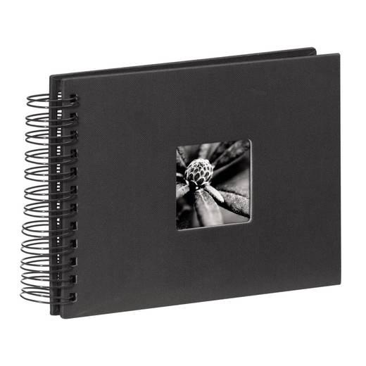 """Spiralalbum """"Fine Art"""", Schwarz, 24x17/50"""