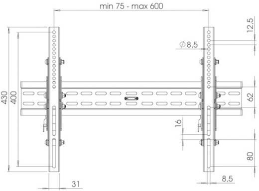 "Thomson WAB150 TV-Wandhalterung ""LED MOUNT by Thomson"" 94 - 127 cm (37"" - 50"") Schwarz"