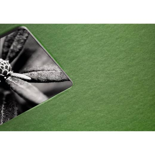 "Spiralalbum ""Fine Art"", Apfelgrün, 24x17/50"