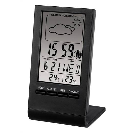 Hama TH-100 Thermo-/Hygrometer Schwarz