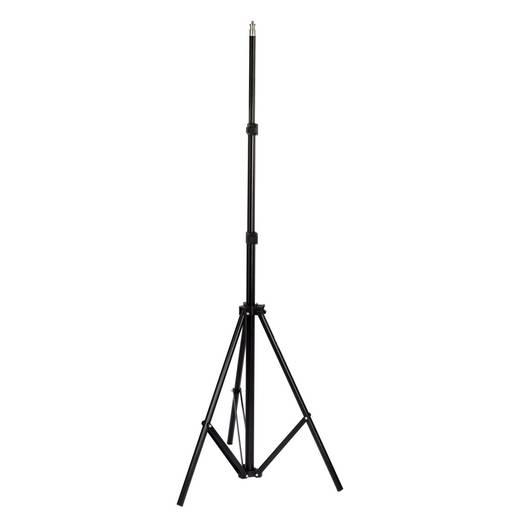 Dreibeinstativ Hama LS-L200 1/4 Zoll Arbeitshöhe=75 - 200 cm Schwarz