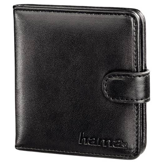 Speicherkarten-Tasche Hama 00095956 SD-Karte, microSD-Karte Schwarz