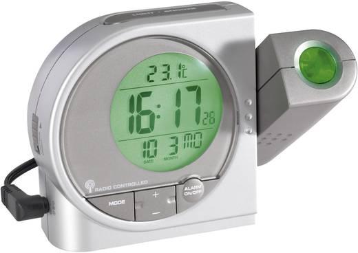 Funk Projektionsuhr digital PCR19 Silber