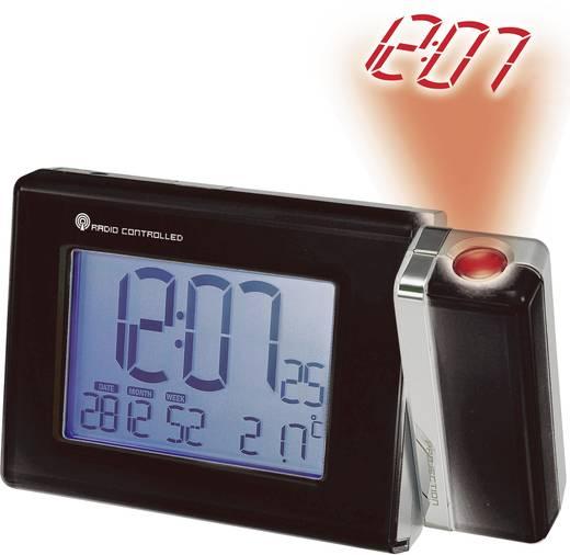 Funk Projektionsuhr digital PCR201 Schwarz