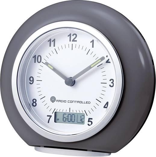 RC692 Funk Wecker Grau Alarmzeiten 1 Fluoreszierend Zeiger