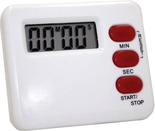 Timer M902012C Weiß, Rot digital