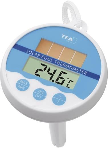 Schwimmbecken-Thermometer TFA Solar Weiß