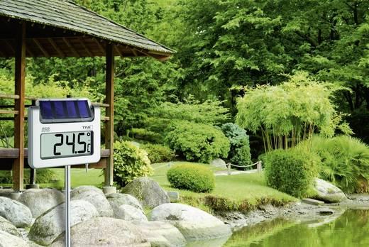 Solar Garten-Thermometer TFA Avenue Silber