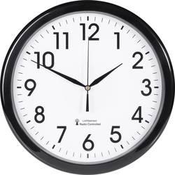 Horloge murale radiopiloté(e) EuroTime 53692-05 noir 30.5 cm x 4.5 cm