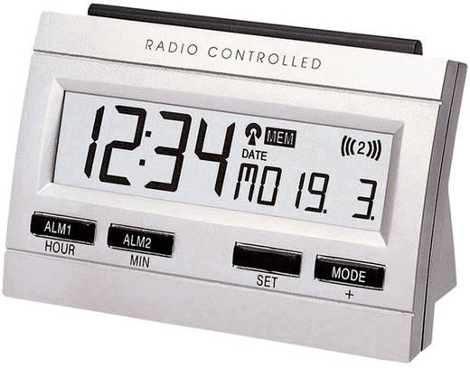 Funk Wecker Techno Line 02991 WT 87 Silber Alarmzeiten 2