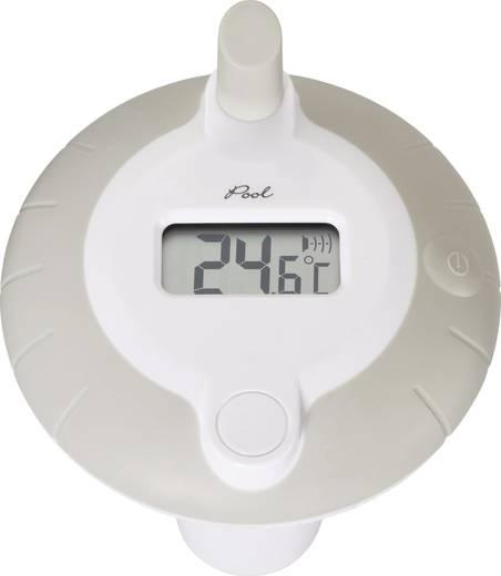 Schwimmbecken-Thermometer Silber