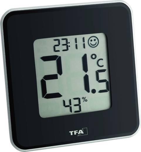 Thermo-/Hygrometer TFA Style Schwarz