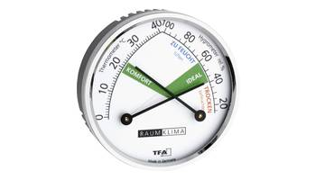 Wand Thermo- & Hygrometer