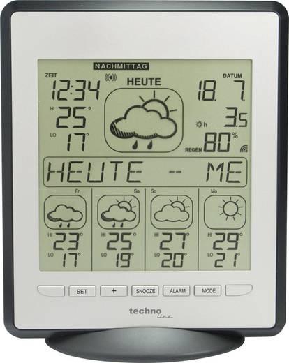 Techno Line Funk-Wetterstation WD9550 Vorhersage für 4 Tage