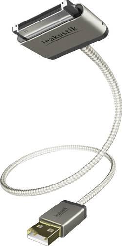 IPad/iPhone/iPod dátový kábel/nabíjací kábel Inakustik 00440002, 2 m, biela