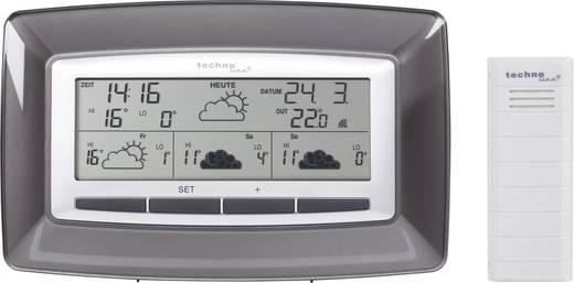 Satelliten Wetterstation Techno Line Station météo radiopilotée WD 4005 WD 4005 Vorhersage für 4 Tage